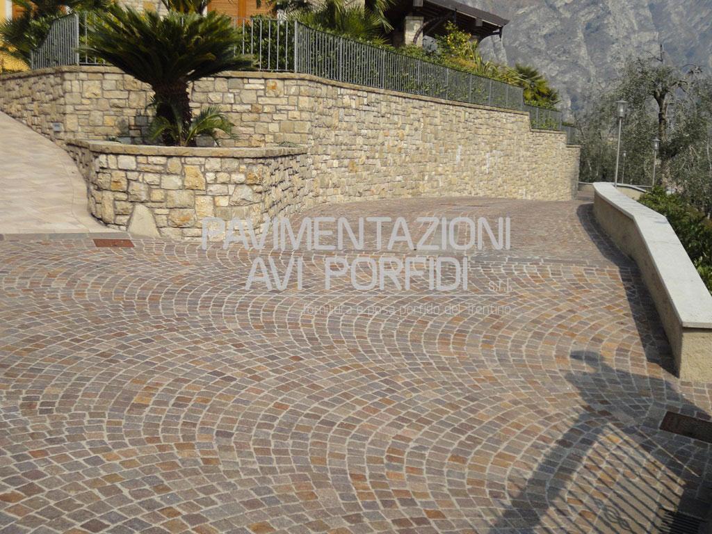 Pavimenti per esterni carrabili prezzi piastrelle in porfido