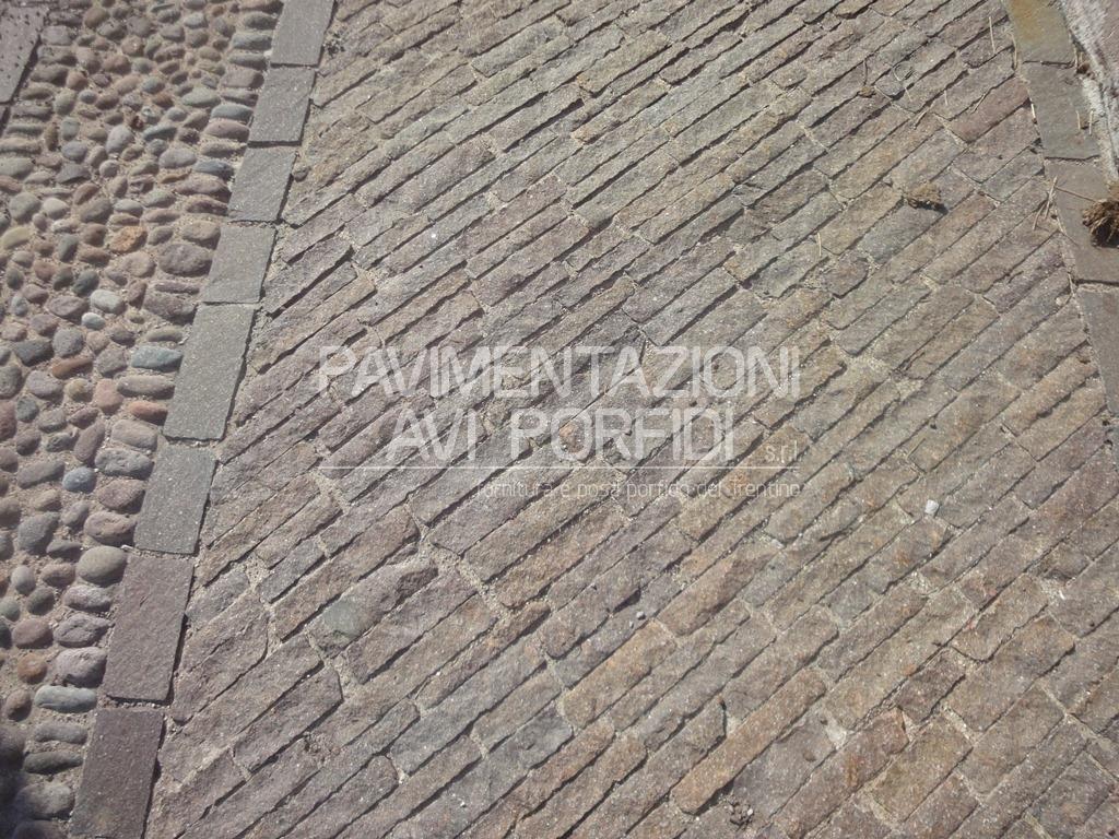 Posa pavimenti esterni in porfido costo al mq terminali - Posa pavimenti esterni ...