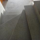 Scale da interno in porfido for Arredare pianerottolo scale