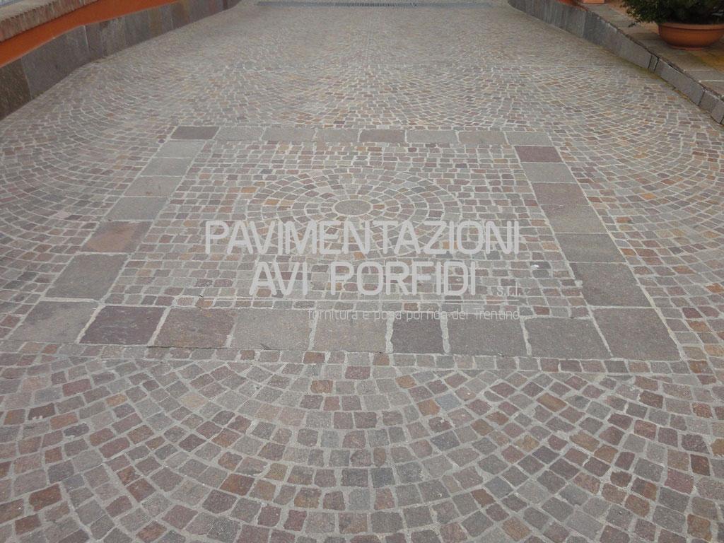 Cubetti di porfido - Posa pavimenti esterni in porfido costo al mq ...