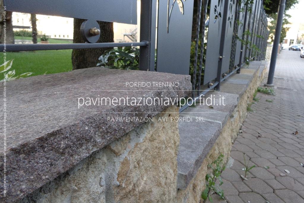 Pavimentazioni avi porfidi copertine e davanzali in porfido