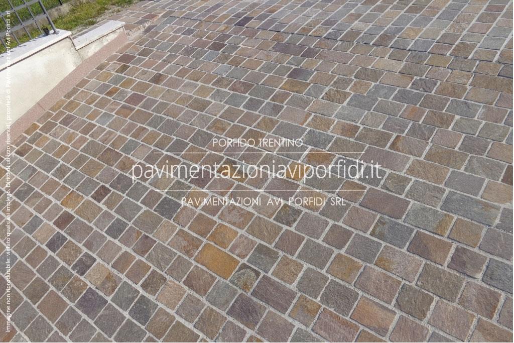 Pavimenti in porfido per esterni affordable gallery pavimenti in porfido richiesta with - Piastrelle garage prezzi ...