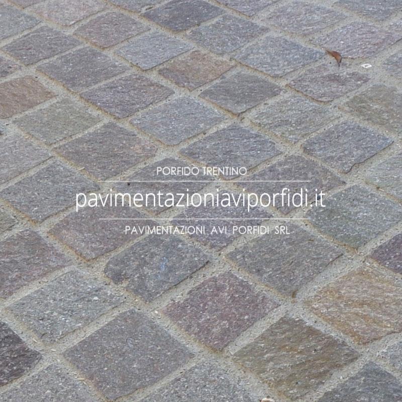 Pavimenti per esterni: sigillatura del porfido