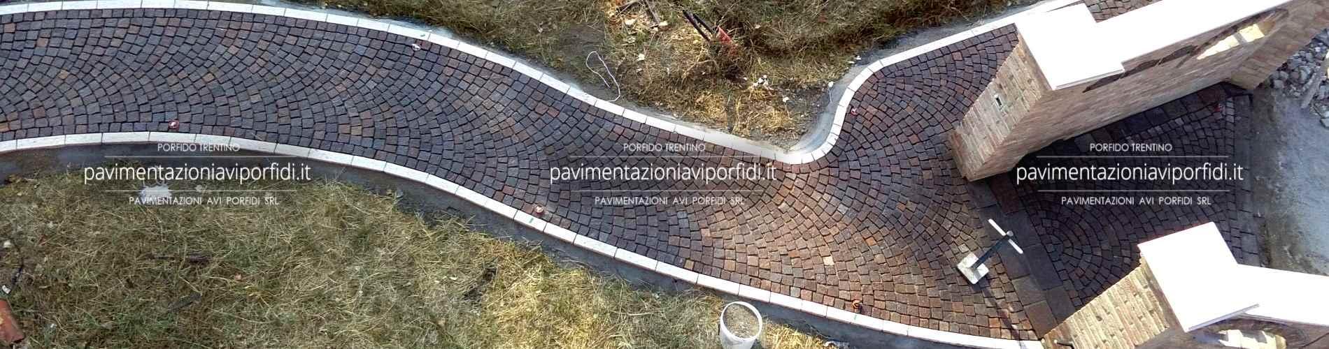 Vialetti In Pietra Prezzi pavimenti per esterni: soluzioni in porfido per la tua casa
