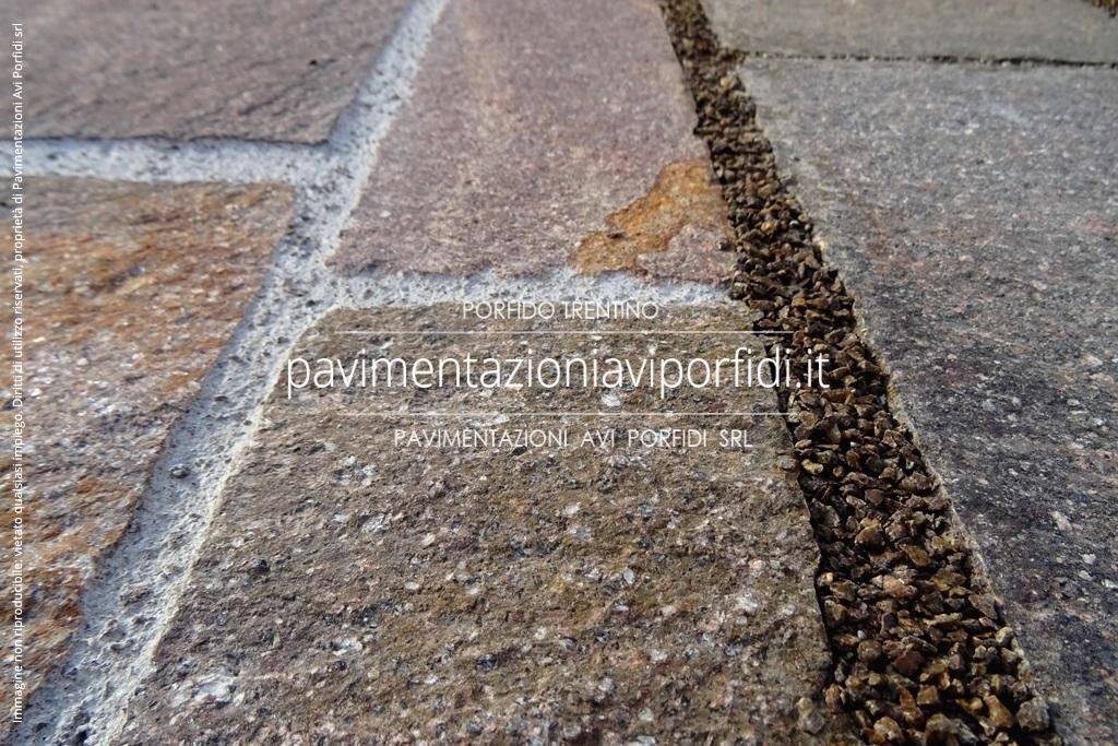Pavimenti Resina Trento : Resina poliuretanica per cubetti di porfido